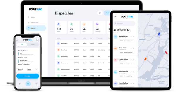 PortPro Introduces drayOS: The Next Generation Drayage TMS