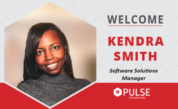 PULSE Integration Welcomes Kendra Smith, Software Solutions Manager.