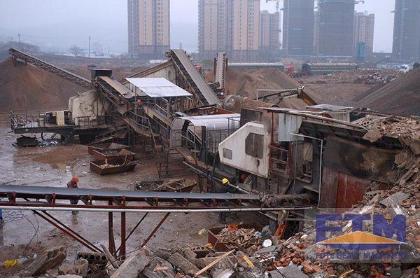"Construction waste — Inexhaustible ""Treasure of Cities"""