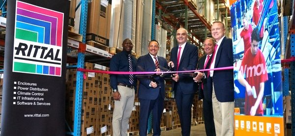 Logistics Team at Gebrüder Weiss Welcomes Rittal North America to its Midwest Warehouse