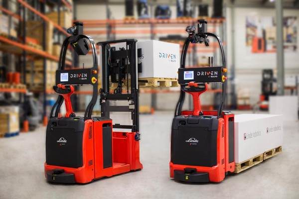 Self-Driving Forklifts: The Future is right here