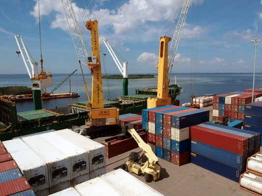 Port Manatee container trade surges 54.6 percent