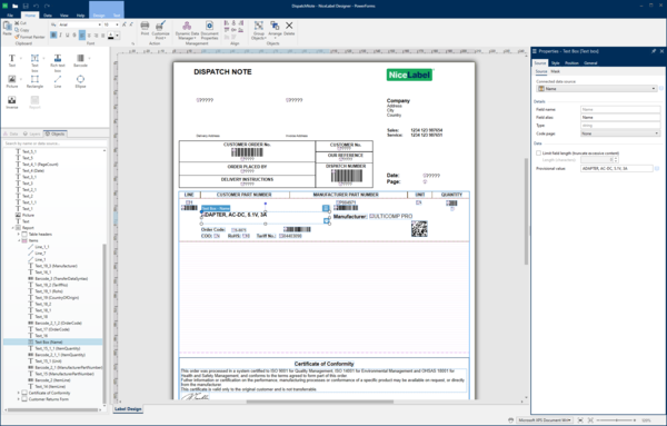 NiceLabel Releases New Version of Labeling Management Solution to Streamline Supply Chains