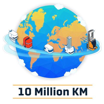 BlueBotics' ANT® Navigation Drives Autonomous Vehicles Over 10 Million Kilometers