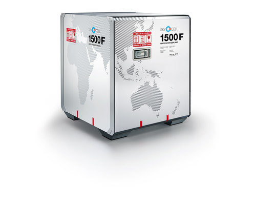 SkyCell launches new 1500F container to meet need for -20°C pharma product transportation