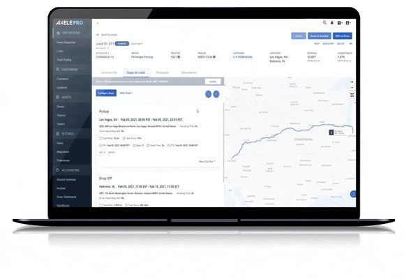 Axele Enhances TMS with Fuel Card Support, New Expense Module, and More ELD Integrations