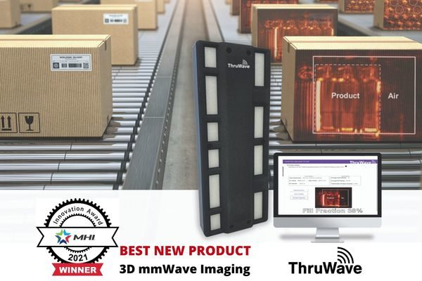 ThruWave 3D mmWave Imaging Named Best New Product Innovation, 2021 MHI Innovation Awards
