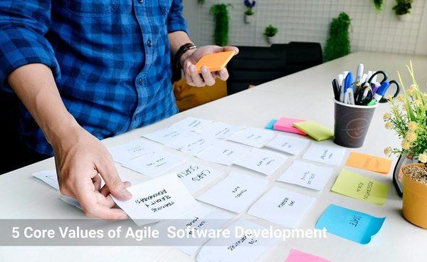 5 Core Values of Agile Software Development