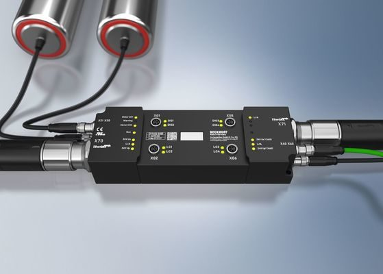 Beckhoff Introduces New EP7402 EtherCAT Box for Compact Conveyor Control