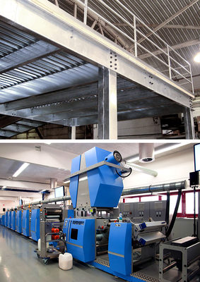 Engineering the air: Western Pacific creates innovative storage space for national printing company