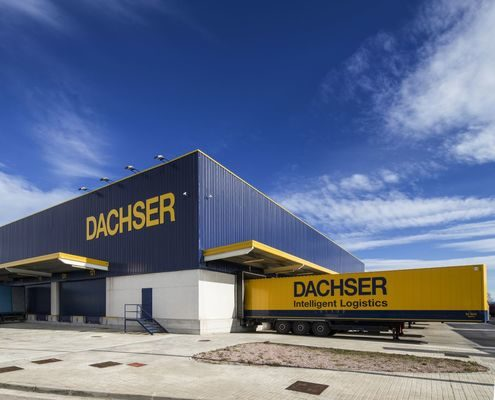 Dachser Brazil transports 250,000 masks for thyssenkrupp Elevadores
