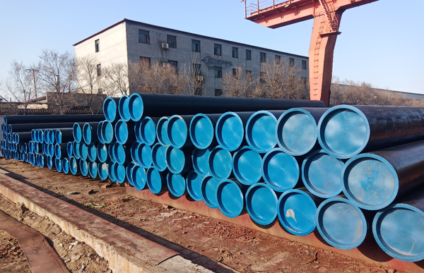 Quality Inspection of A53 ERW Steel Pipe