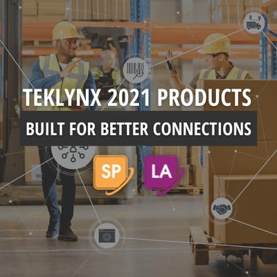 TEKLYNX Launches 2021 Enterprise Labeling Software Solutions Designed to Enable Better Connections