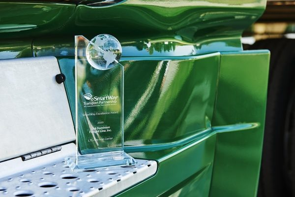 Old Dominion Freight Line Honored with Environmental Protection Agency SmartWay Excellence Award