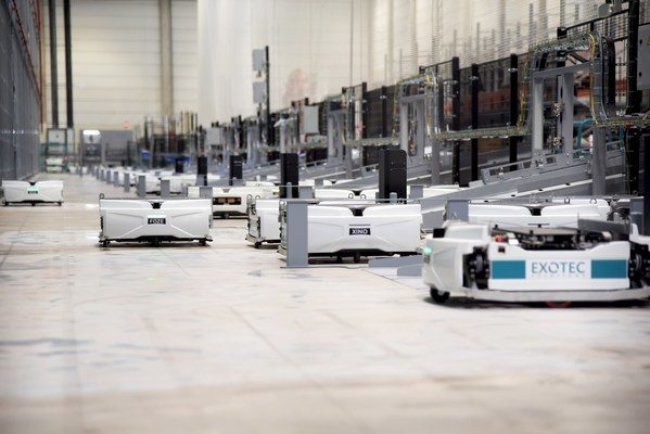 GEODIS Partners with AHS to Implement Exotec Robotic Solution to Optimize e-Commerce Fulfillment