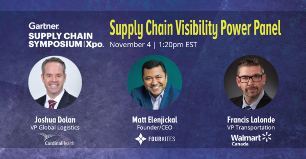 Walmart Canada and Cardinal Health to Present with FourKites at Gartner Supply Chain Symposium 2020