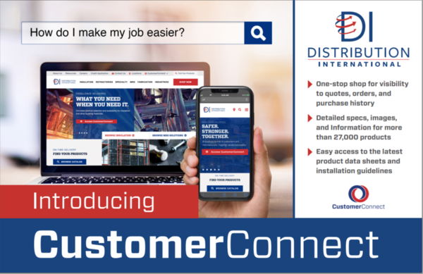 DI Announces CustomerConnect, Enabling Customers to Easily Search and Quote 27,000 Products