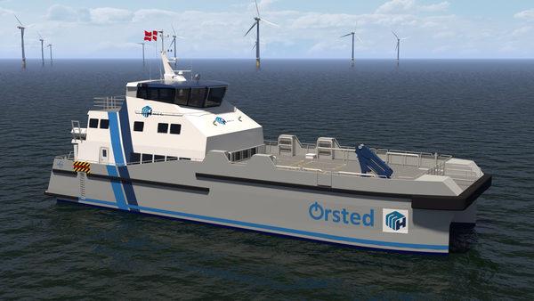 Danfoss Editron powering the UK's first hybrid crew transfer vessels