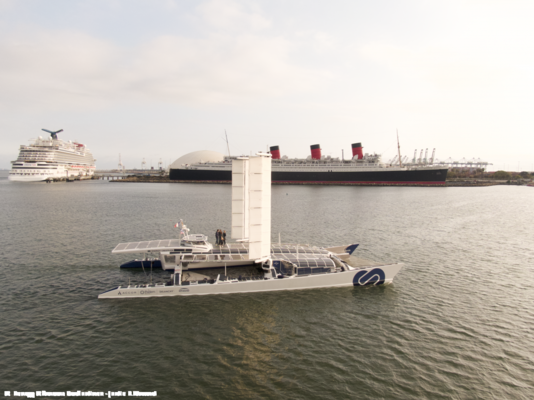 CMA CGM partner Energy Observer, the first round-the-world hydrogen-powered vessel, makes U.S. debut